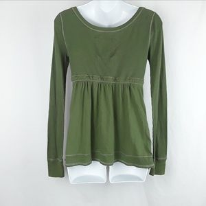 Abercrombie & Fitch Tops - Olive Green Long Sleeve Top by Abercrombie & Fitch